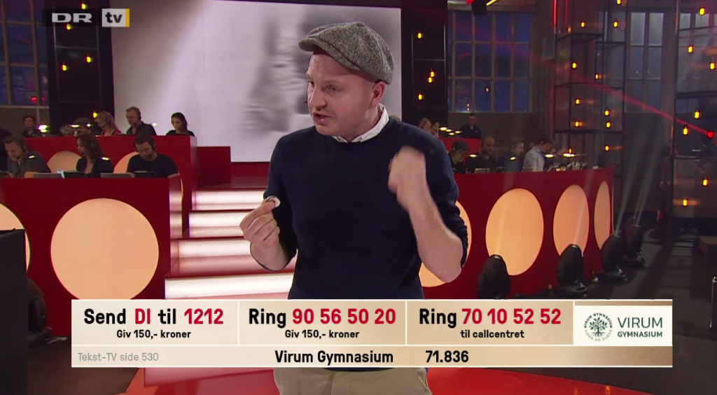 Danmarksindsamling på Virum Gymnasium