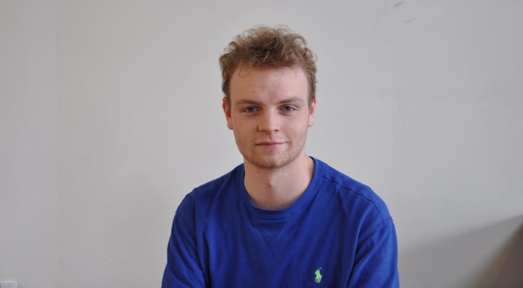 Victor Mordhorst i finalen i filosofi essay-skrivning