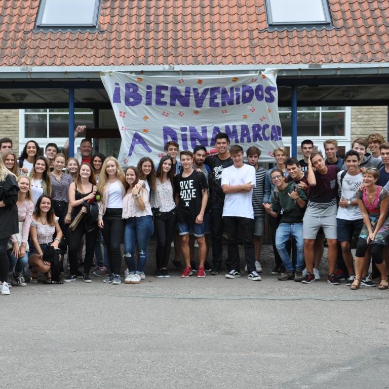 Besøg af spanske gymnasieelever d. 3-9. maj 2017