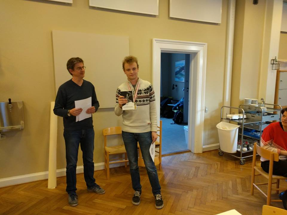 Victor Mordhorst 3f til filosofi-finalen i Rotterdam