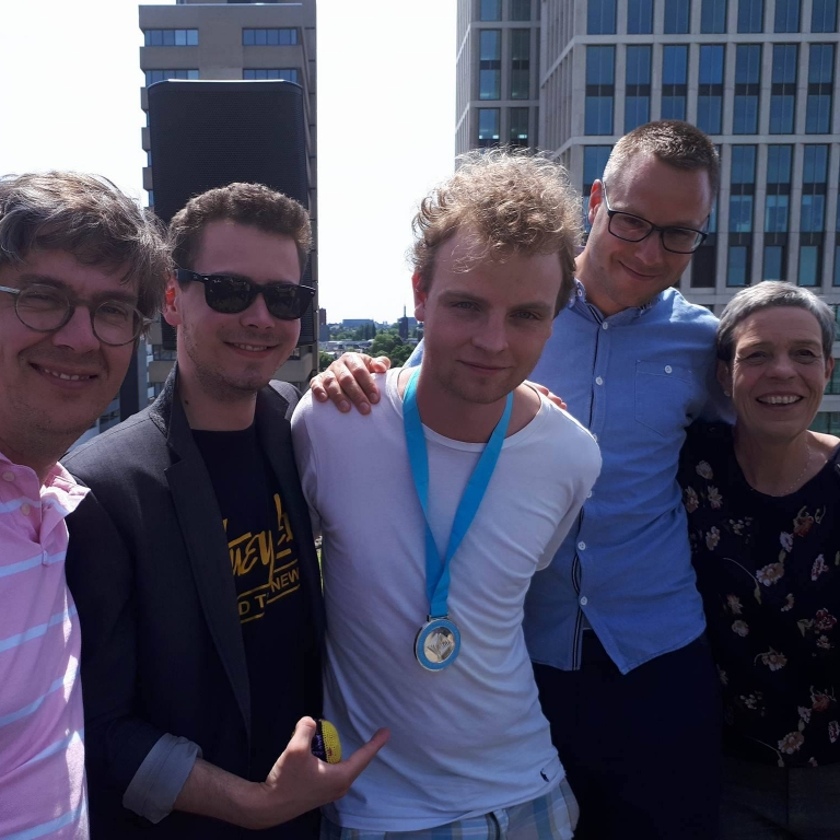 Sølv til VG's Victor Mordhorst, 3f, ved Den Internationale Filosofi-olympiade 2017