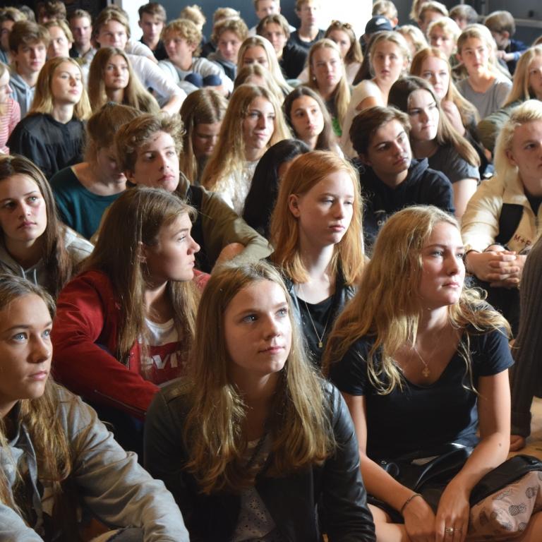 Forældremøde for 1.g elever d. 9.10.17