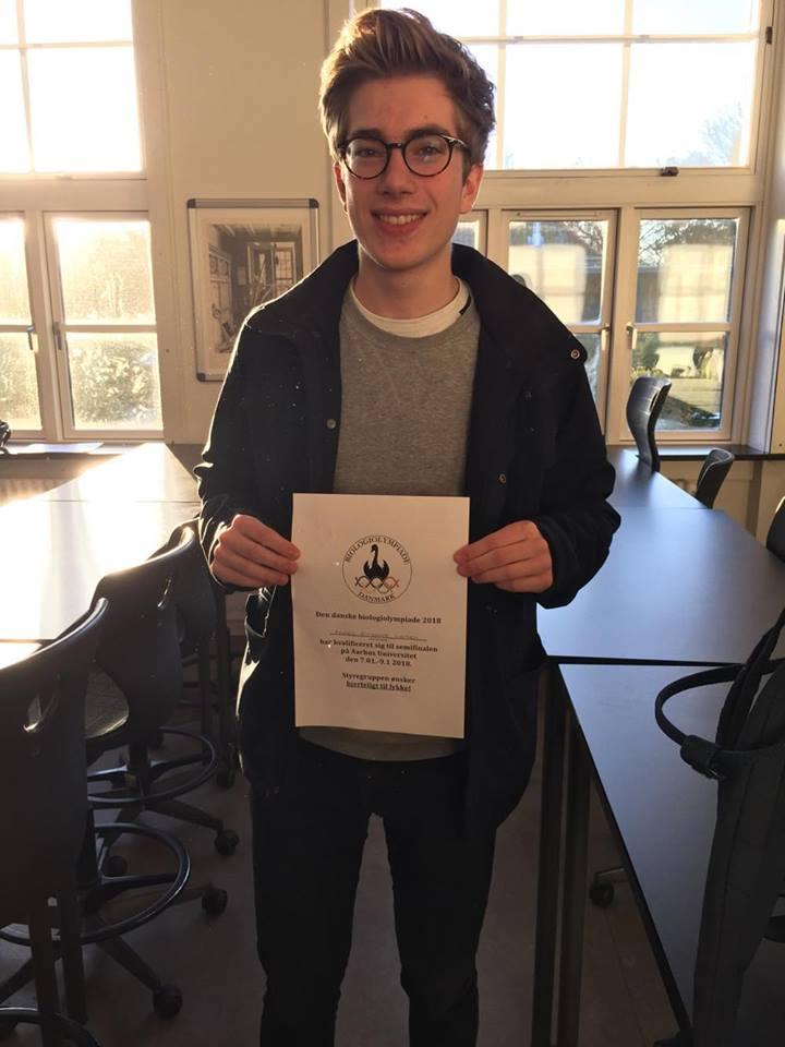VG-elev Anders Kursawe, 3b, videre i bio-OL