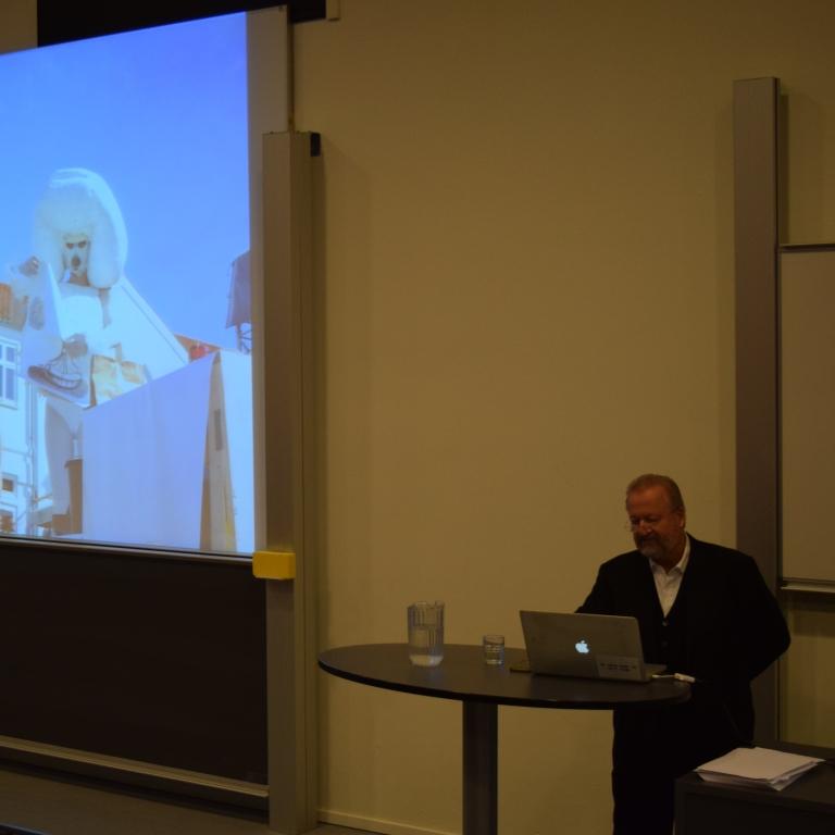Bjørn Nørgaard besøgte VG d. 4.12.17 - VGcc