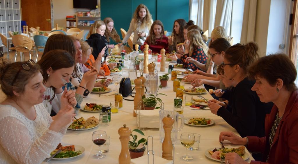 'Danmark spiste sammen'  d. 24.4.18