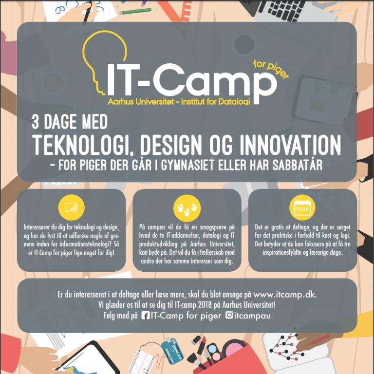 IT-Camp for piger 17.-19- oktober 2018