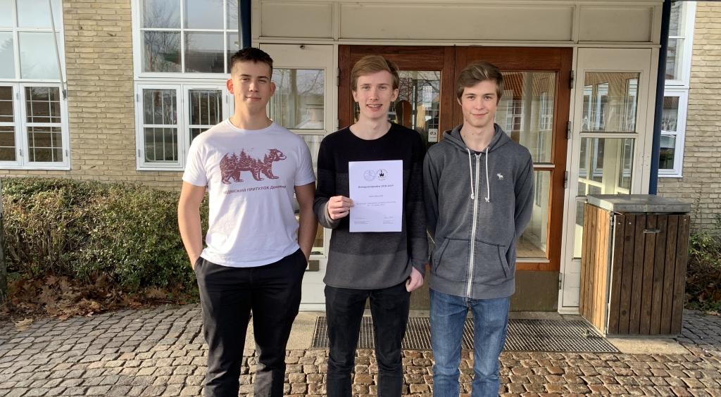 VG elever med i Biologiolympiadens semifinale.