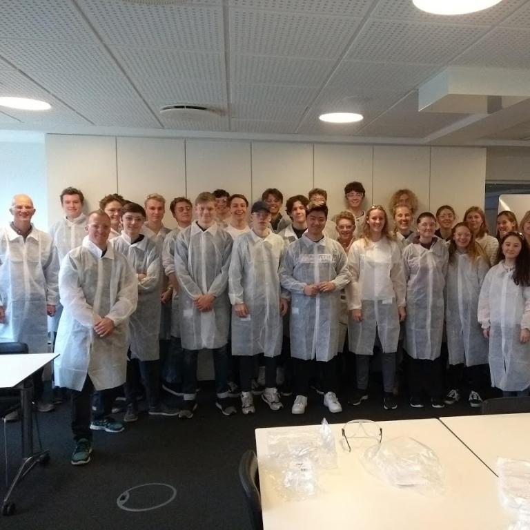 Samarbejde med Haldor Topsøe, Novozymes, DTU m.fl. i de naturvidenskabelige fag