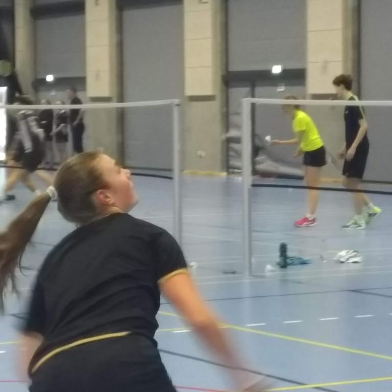 Flot 2. plads til VG ved finalestævnet i badminton på Tietgen Handelsgymnasium d. 27.2.19