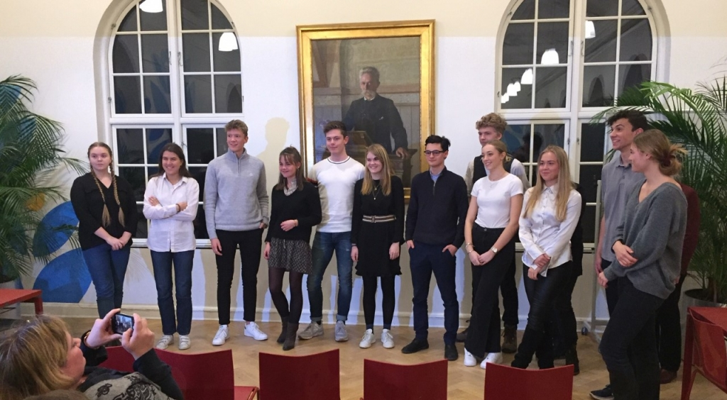 VG-elev i finalen ved English Speaking Union 2019
