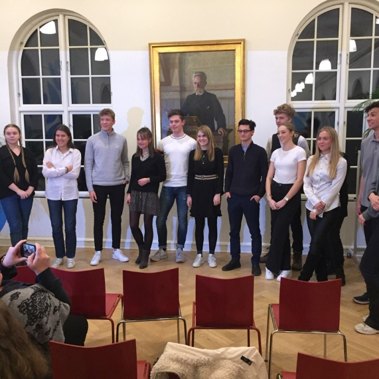 VG-elev i finalen ved English Speaking Union 2019