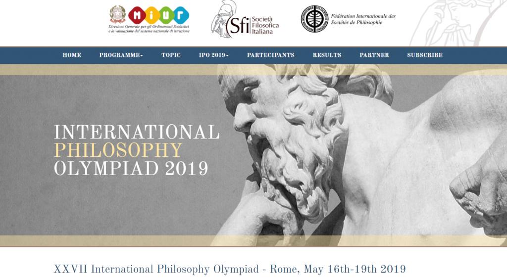 Tillykke til Minik 3.k. Filosofi-elev videre til den internationale finale i Rom d. 16-19. maj 2019