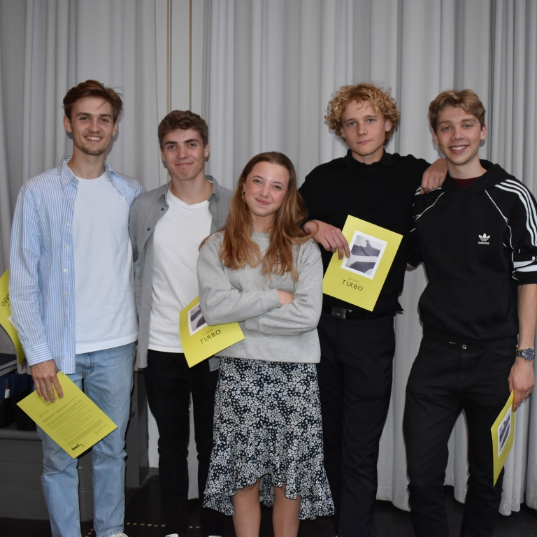 TURBO-diplomoverrækkelse 28. maj 2019 på Johan Borups Højskole i København