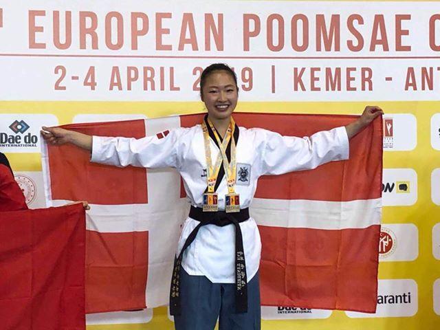 VG-TeamDanmark-elev Eva Sandersen høster guld i seniorrækken