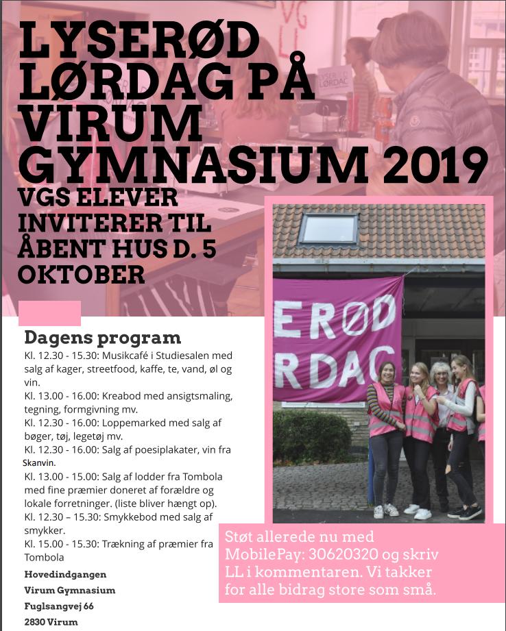 Fin 'Lyserød Lørdag' d. 5. okt. 2019
