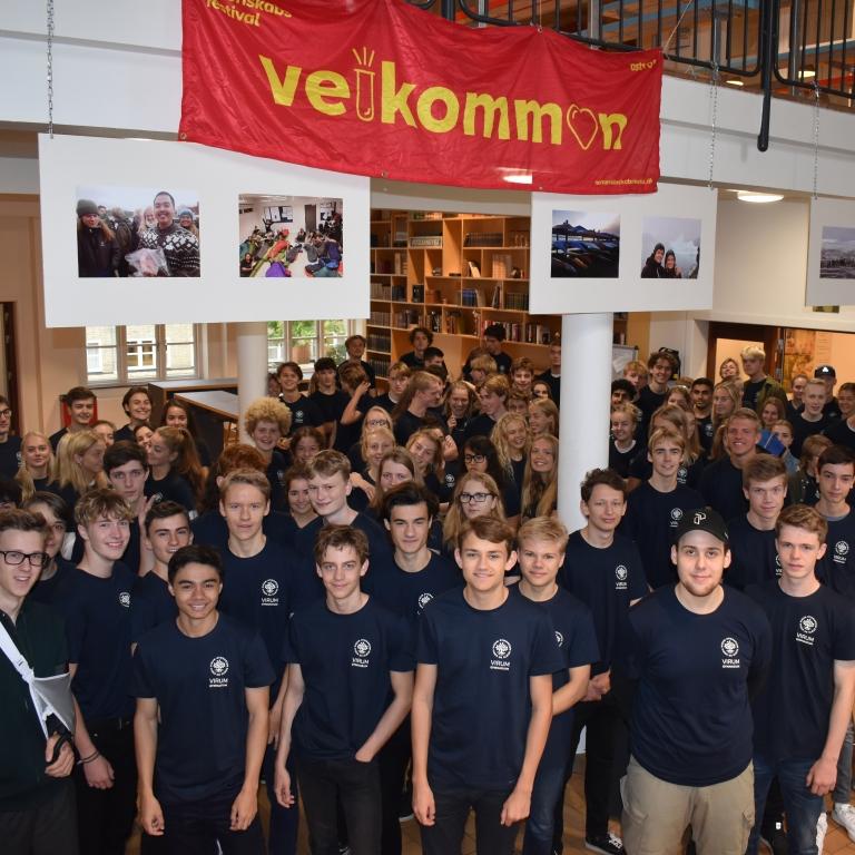 Naturvidenskabsfestival på Virum Gymnasium for 8./9.klasser