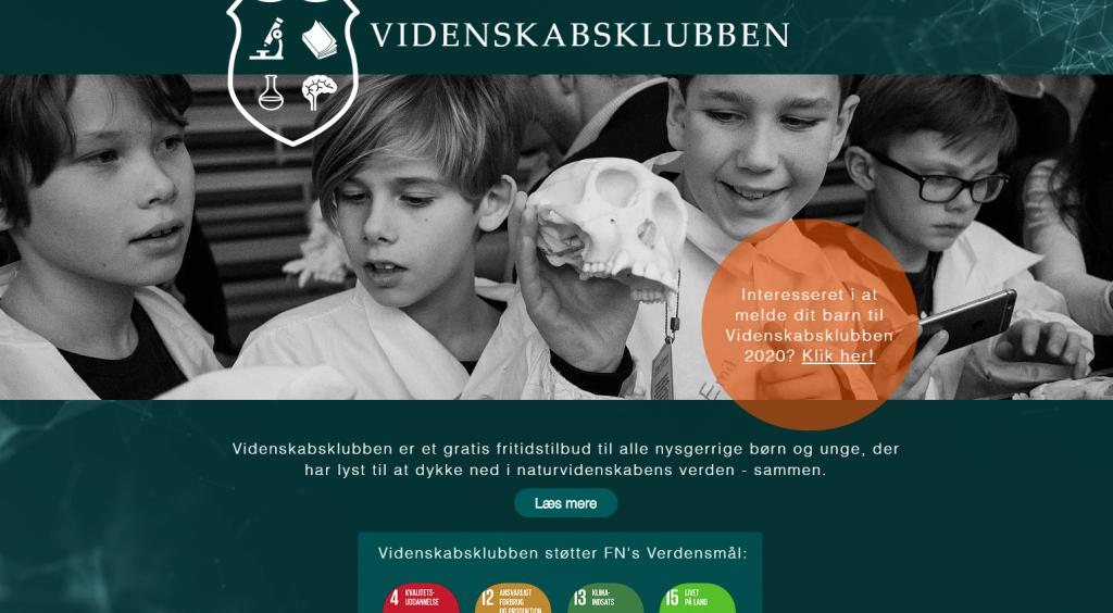 Videnskabsklub med VG-seniormentorer