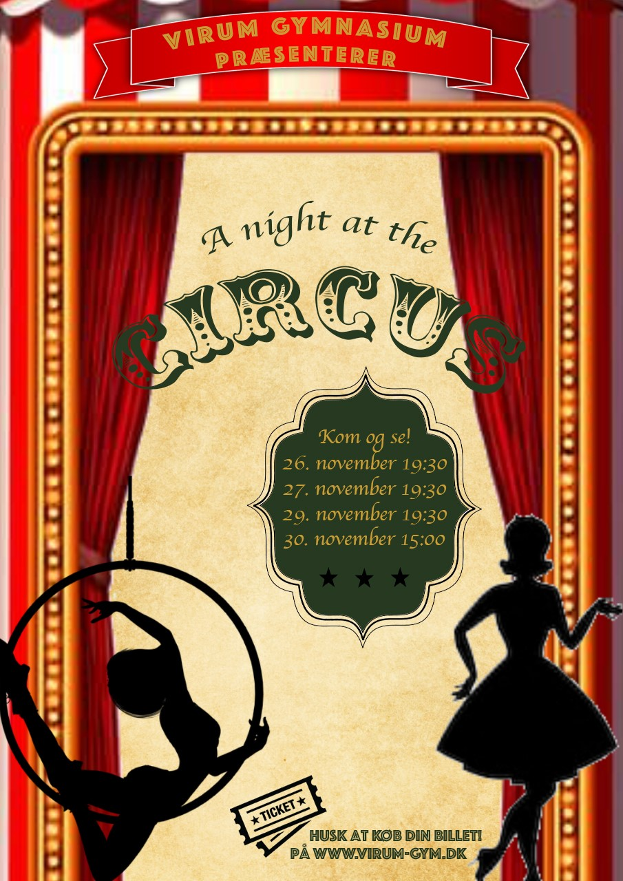 A Night at the Circus – Musical 2019 – Du kan sikre dig billet nu