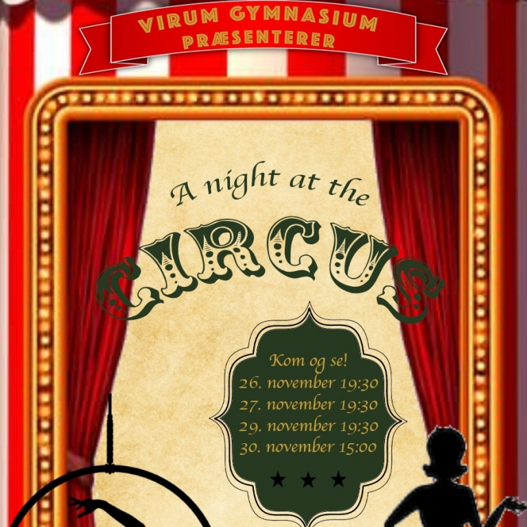 A Night at the Circus - Musical 2019 - Du kan sikre dig billet nu
