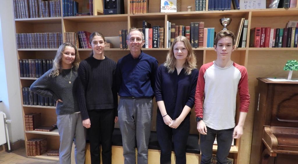 VG-elever i kemi-olympiaden
