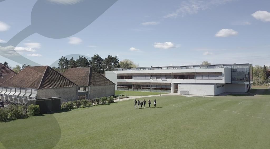 Lyngby Bibliotek på Virum Gymnasium