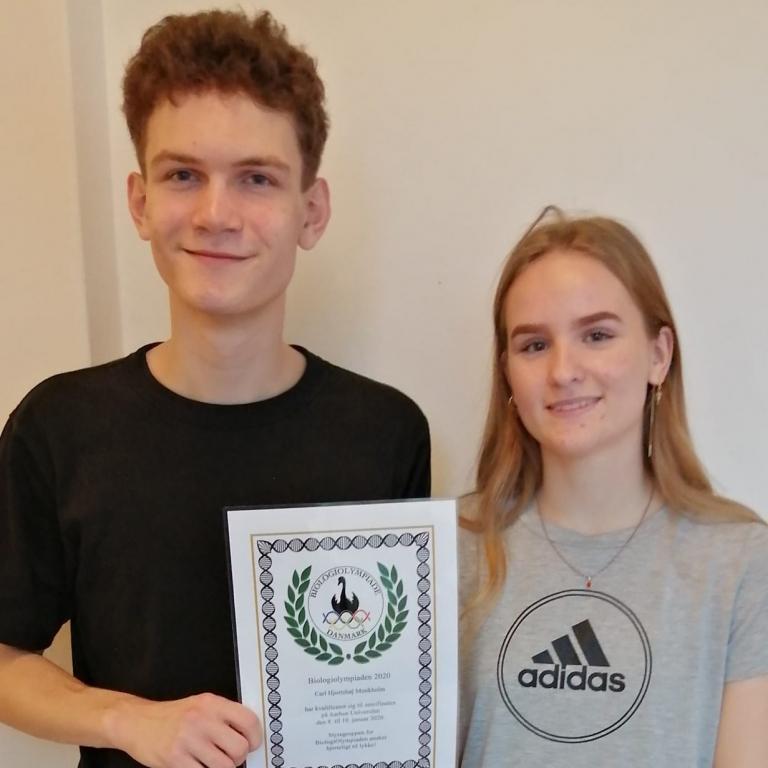 VG-elever til finalen i Biologi-OL