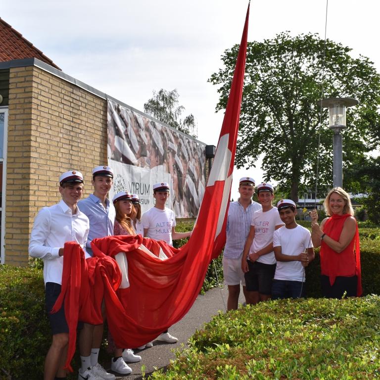 Dimission på Virum Gymnasium d. 26.juni 2020.