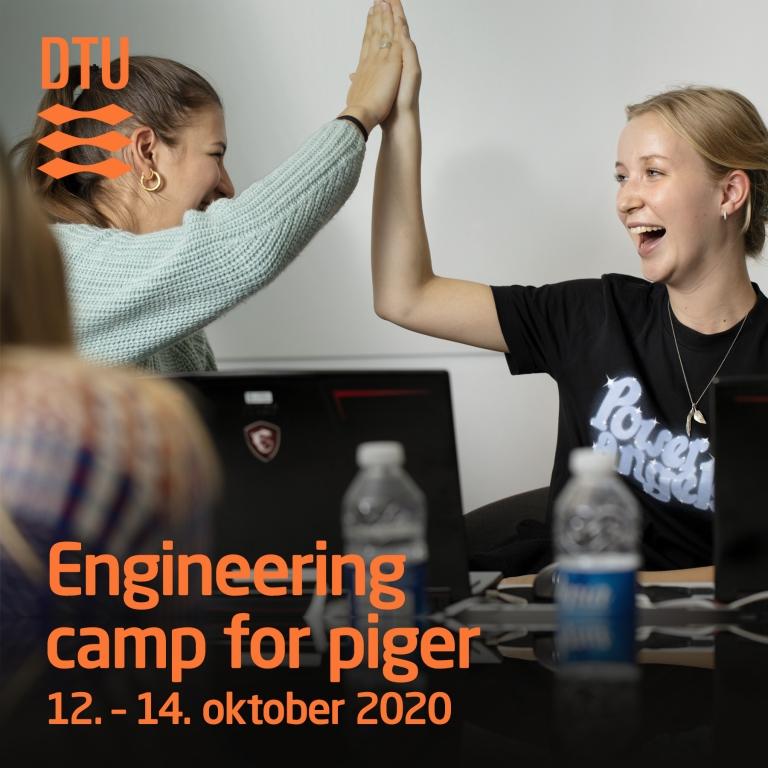 Kom til Engineering Camp på DTU i efterårsferien d. 12.-14. oktober 2020
