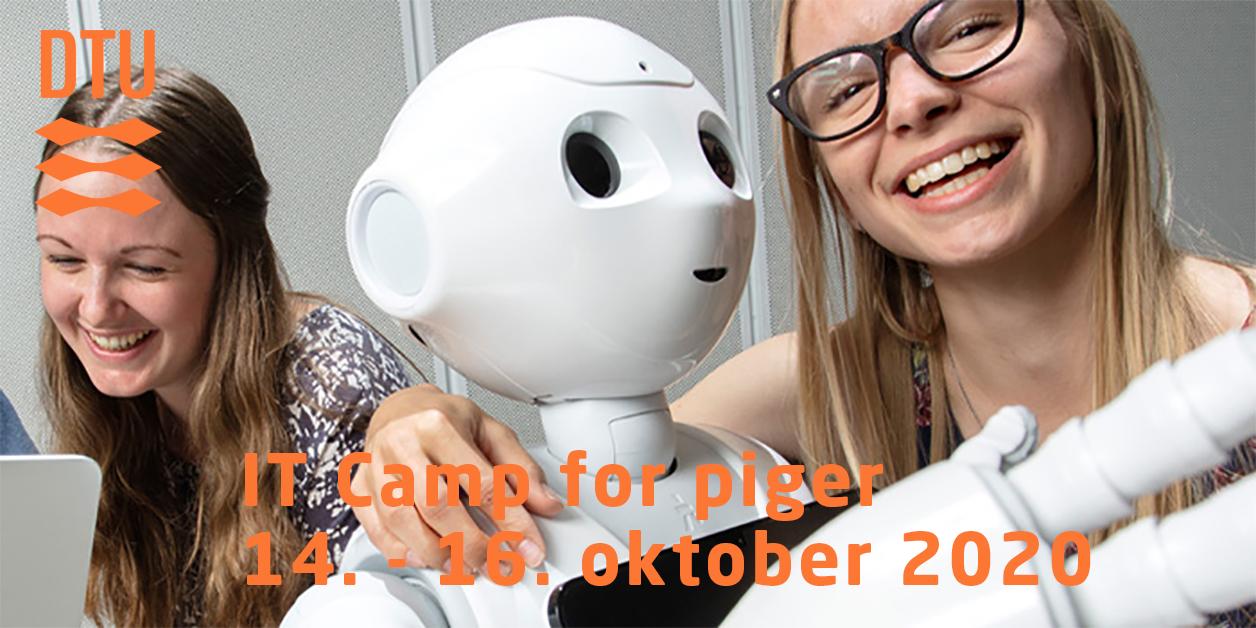 IT-camp for piger på DTU 14.-16. oktober