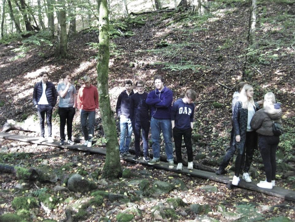 NgB-holdet var på ekskursion til Söderåsen den 5. oktober 2020