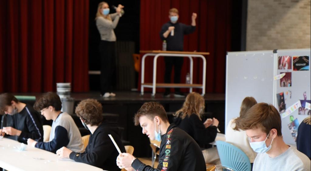 Selvtestningen er i fuld gang på VG. VGs elever klarer det super flot.