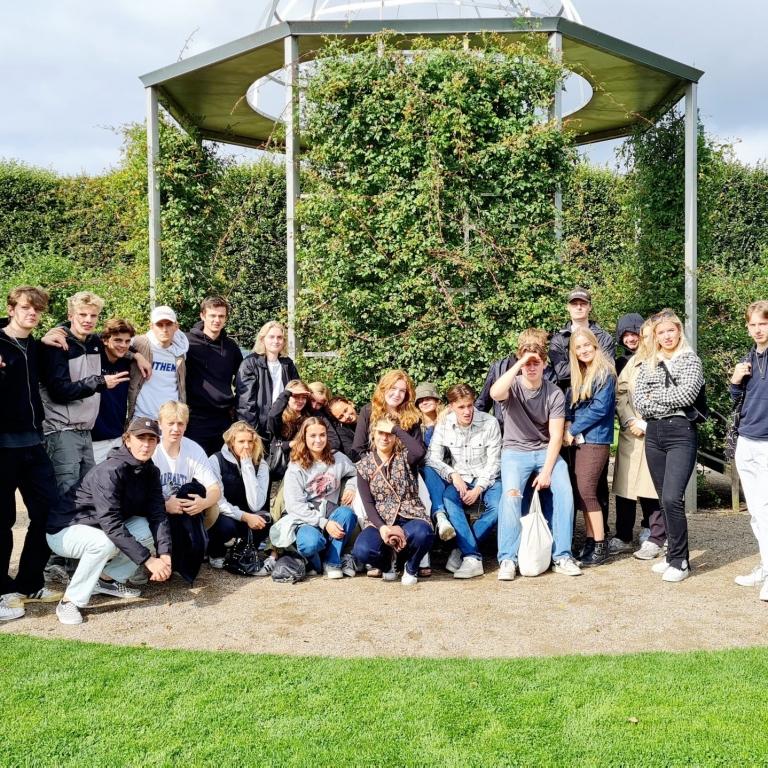 Flexdage på VG. 3.x havde historieundervisning i indre København.