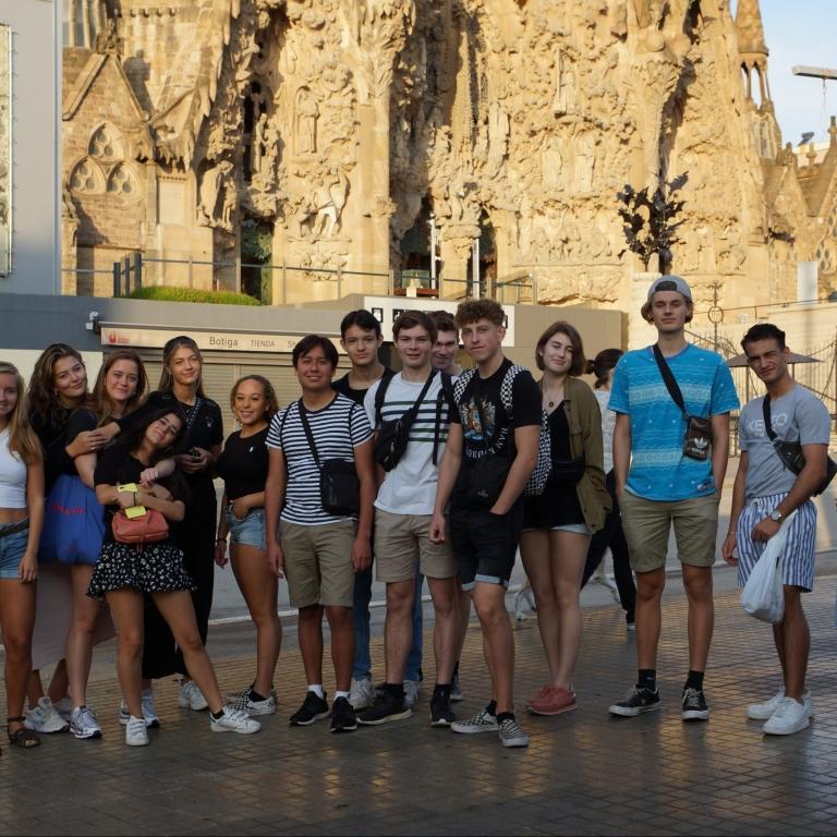 2.g spansk-elever drager på udveksling til Badalona onsdag d. 29.9.21